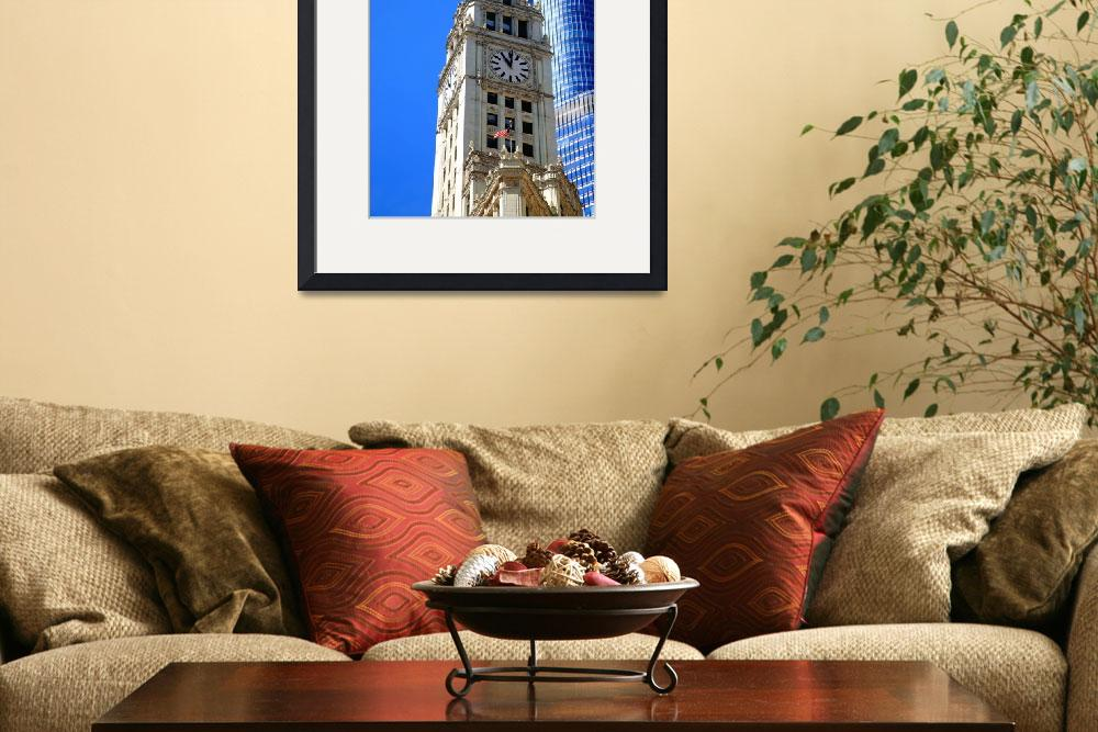 """""""Chicago Clock Tower 2010&quot  (2010) by Ffooter"""