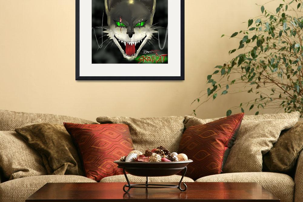 """""""SkauCat By Deviant One&quot  (2011) by DeviantOneDesigns"""