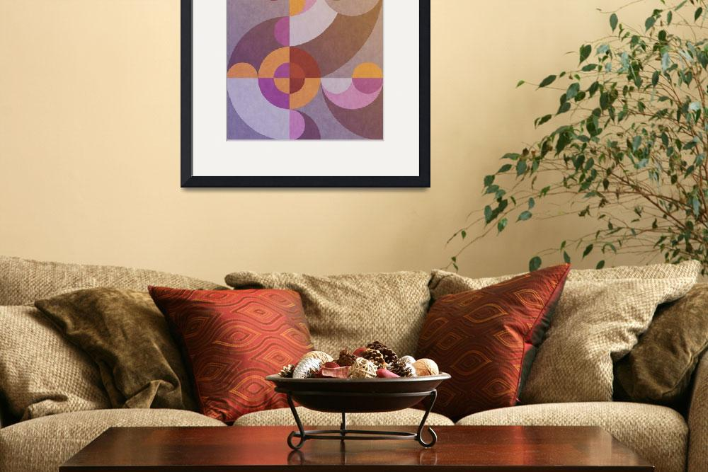 """""""Abstract geometric I&quot  (2014) by eDrawings38"""