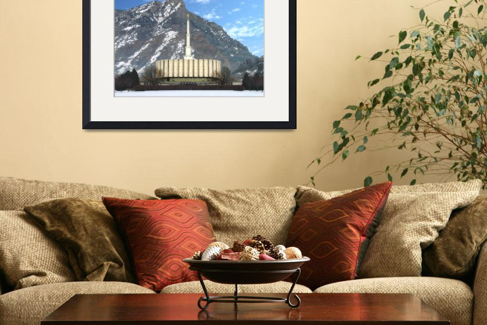"""""""Provo temple&quot  by TerrySpringer"""