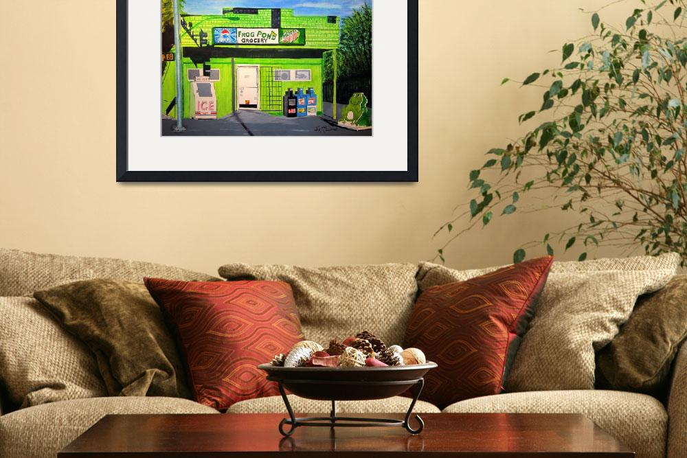 """""""Frog Pond Grocery&quot  (2012) by jimmy4u"""