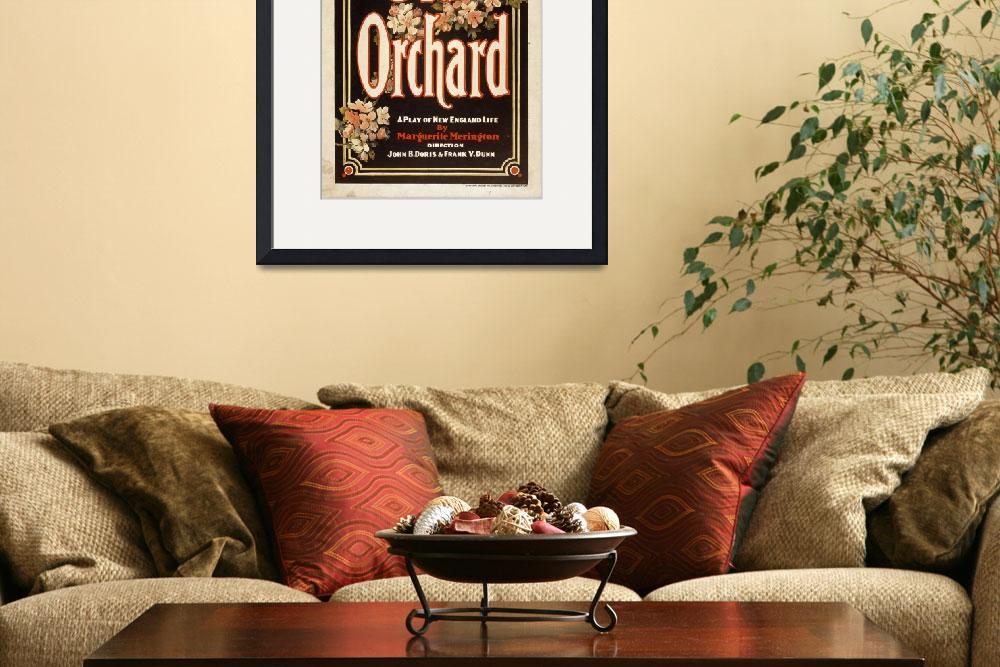 """""""Vintage Theatrical Poster Framed Print&quot  by buddakats1"""