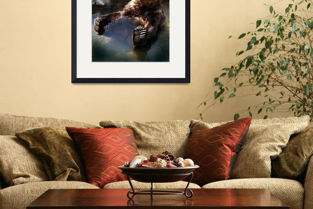 """Grizzly&quot  (1992) by PadgettGallery"