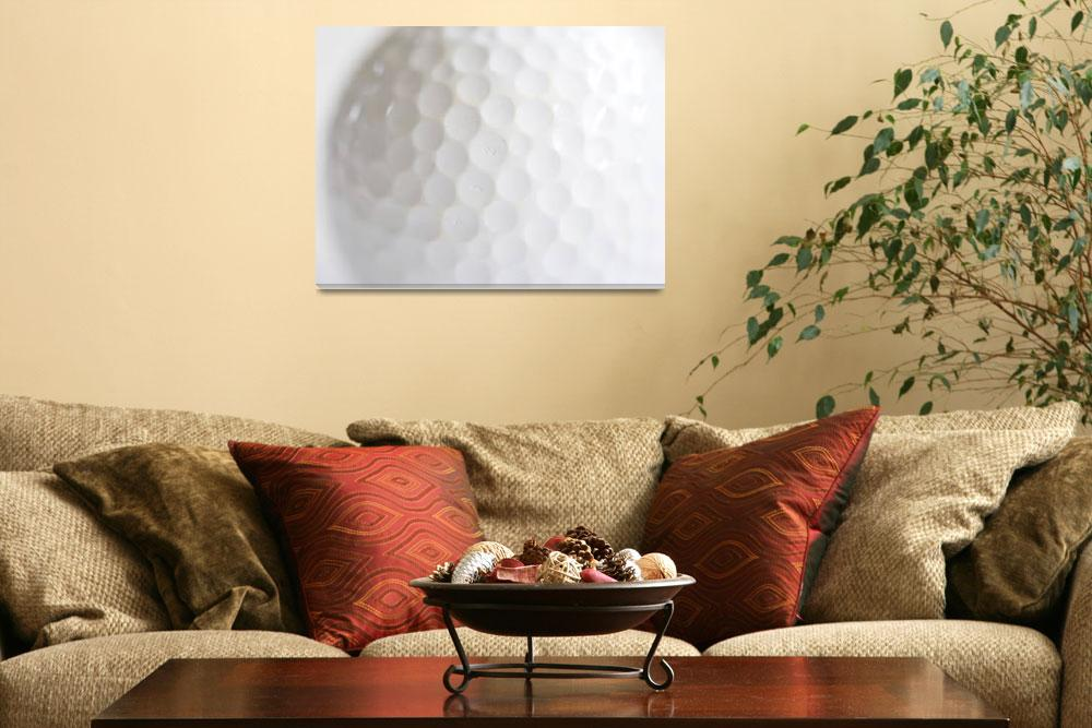"""Golf Ball&quot  (2010) by ImageArt-Photography"