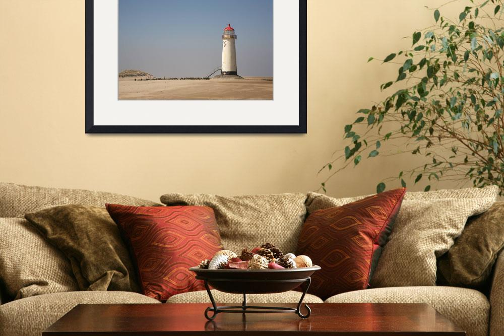 """""""Talacre beach and lighthous&quot  (2009) by ccrcats"""