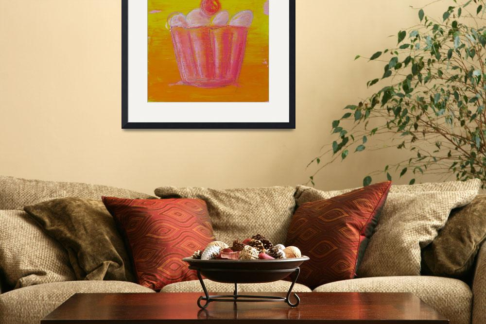 """red cupcake&quot  (2008) by tartart"