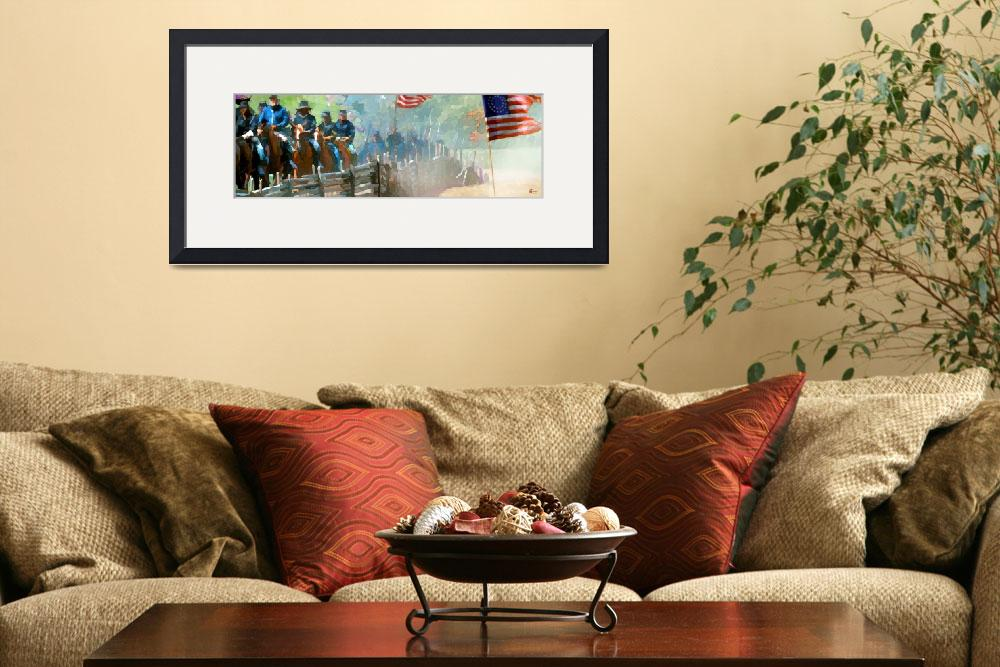"""Union troops moving&quot  (2011) by Pauljs"