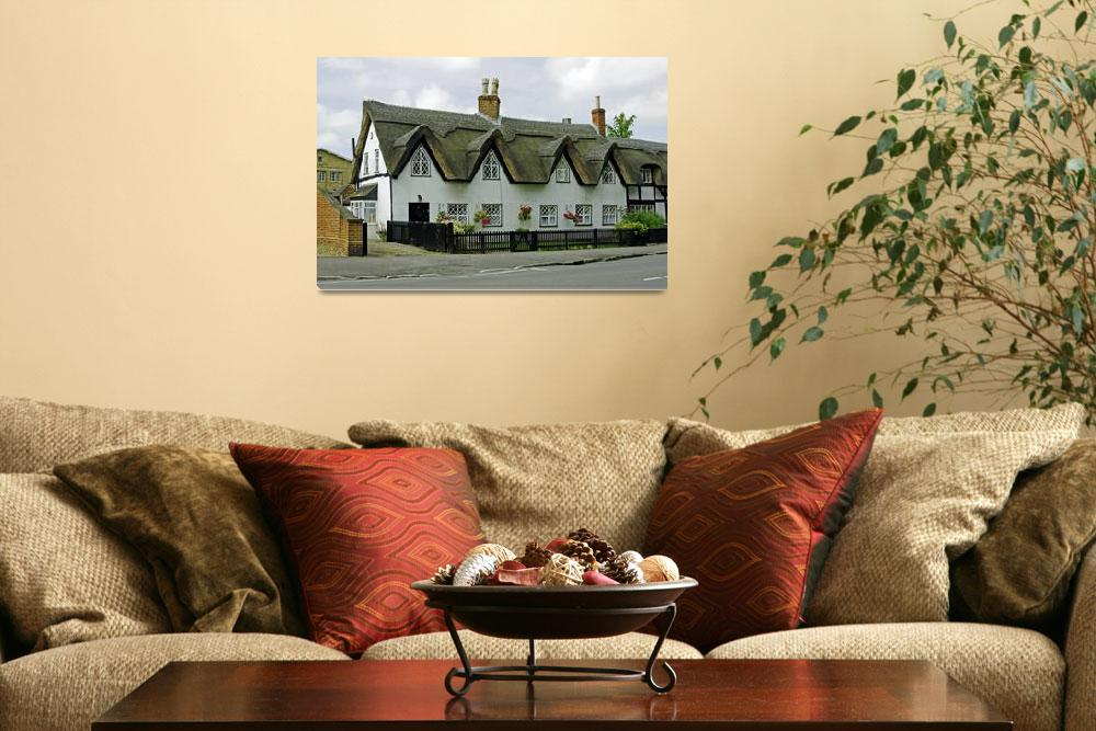 """""""Thatched Cottages In Repton (29026-RDA)""""  (2011) by rodjohnson"""