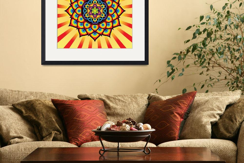 """Flower of Life with Metatron"