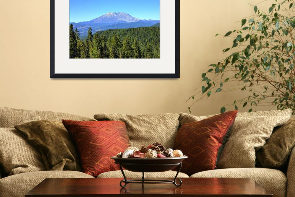 """0219 Mount Saint Helens&quot  (2010) by vincentlouis"