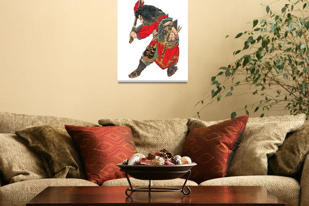 """Japanese Samurai Poster #11&quot  by ArtLoversOnline"