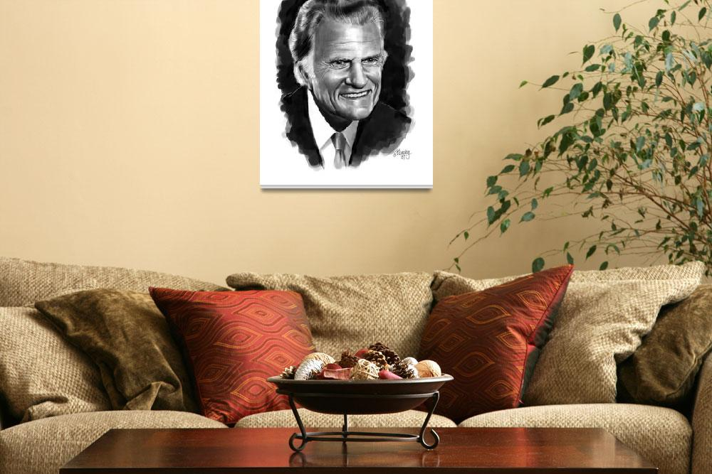 """""""Billy Graham&quot  by Tim"""