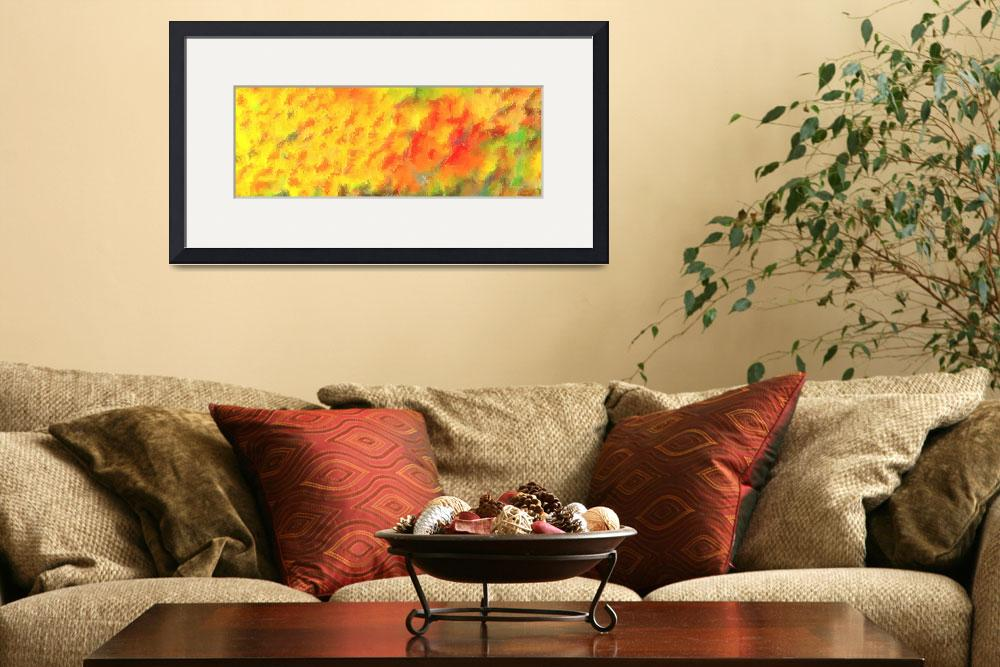"""""""October Abstract Panorama 3&quot  (2013) by TheNorthernTerritory"""
