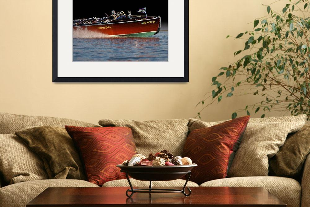 """""""Art of the Wooden Boat-2&quot  by dteetor2"""