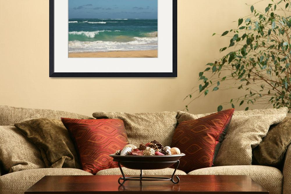 """""""Pacific waves&quot  (2012) by Anastasiia"""