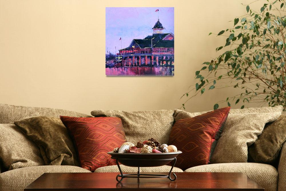 """Reflections on the Pavilion""  (2011) by LeslieSaetaFineArt"