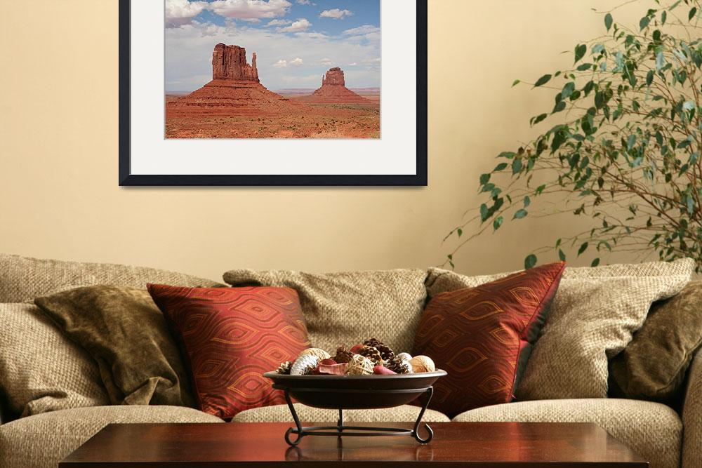 """""""Monument Valley Mittens, Utah, USA&quot  by FranWest1"""