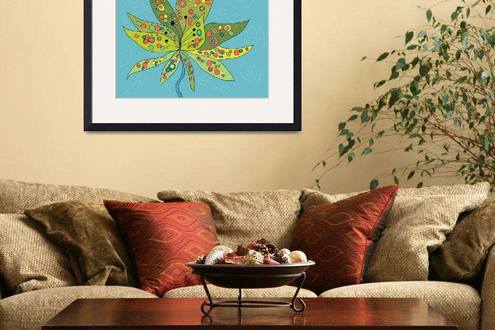 """""""Groovy Lotus&quot  (2012) by TuesdayMoon"""