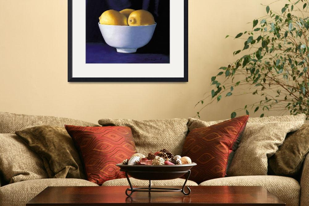 """Bowl of Lemons""  (2007) by paulri"