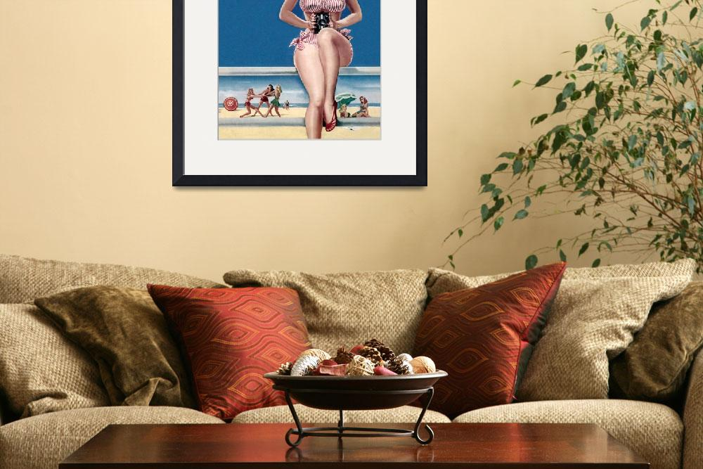 """""""Day at the Beach-Blonde&quot  (2010) by dalidayna"""