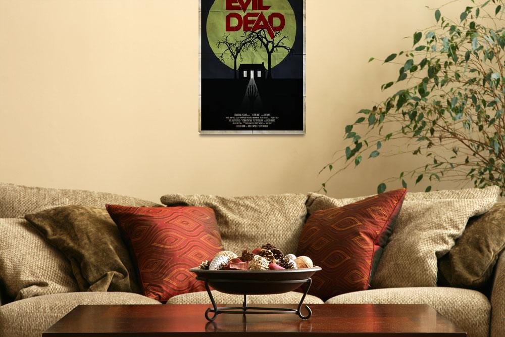 """""""The Evil Dead&quot  (2012) by RyanBlackDesigns"""