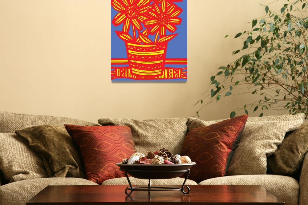 """Flower Art Framed Print&quot  by eddiealfaro"