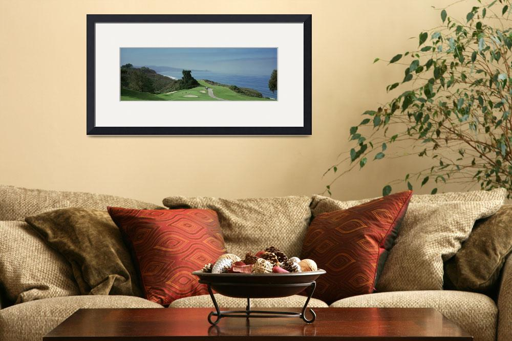 """""""Golf course at the coast Torrey Pines Golf Course&quot  by Panoramic_Images"""