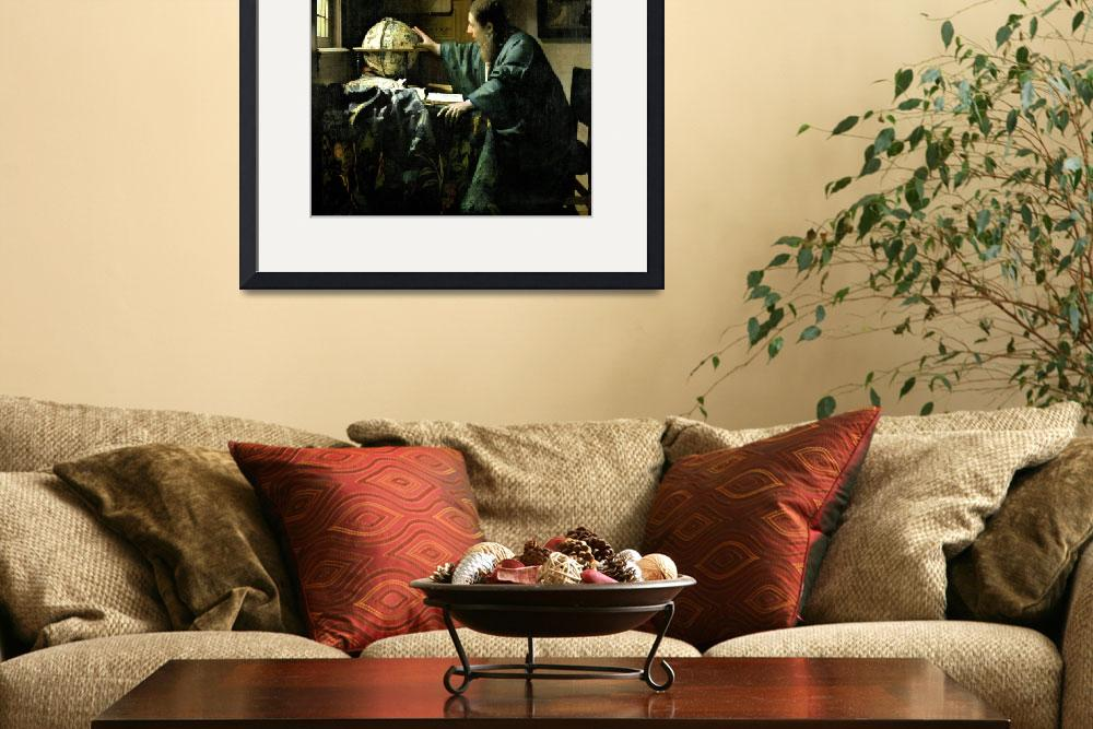 """""""The Astronomer by Jan Vermeer&quot  by fineartmasters"""
