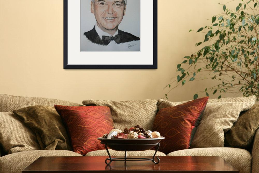 """""""Phillip Schofield&quot  (2009) by Rogertheartist"""