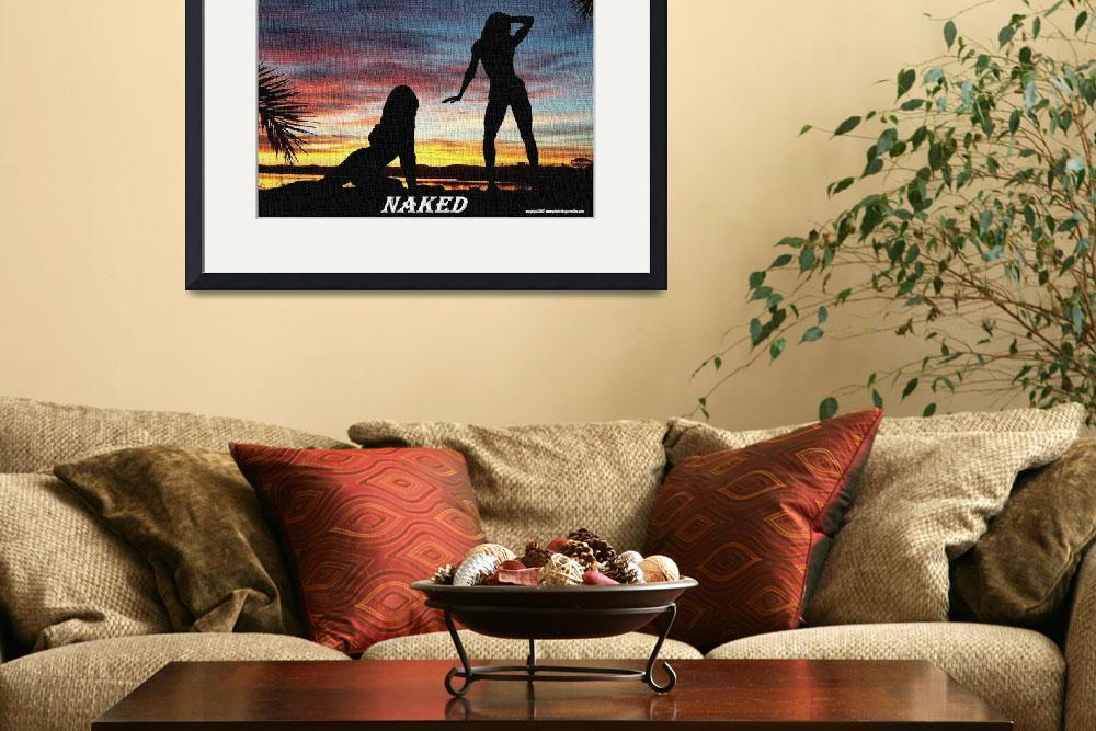 """""""naked on canvas&quot  by photo-design-online"""