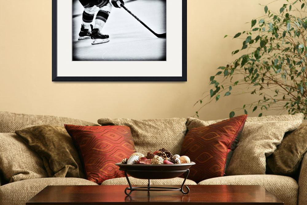 """""""Hockey Is The Game&quot  by karolsstuff"""