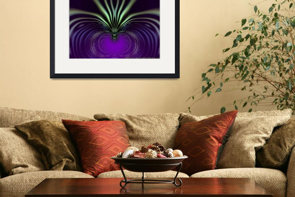 """""""Spider Orchid Mandala&quot  (2011) by AnnStretton"""