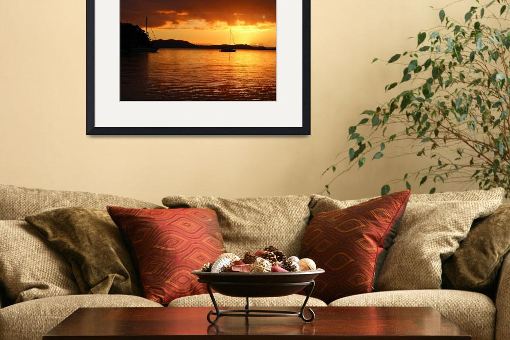 """""""Bay of Islands New Zealand&quot  by Johnnyk"""