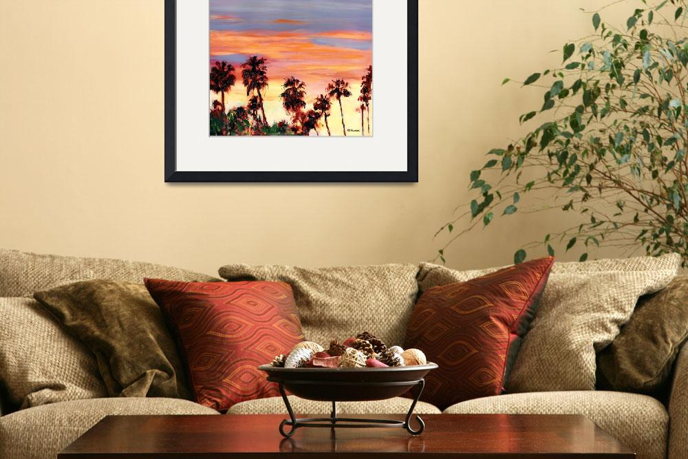 """""""Silver Sunset San Diego&quot  (2010) by RDRiccoboni"""