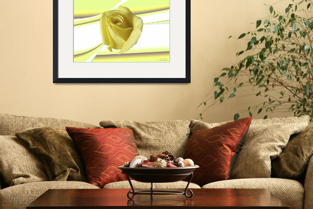 """""""Abstract flower collection (14 of 16)&quot  by WallArtDeco"""