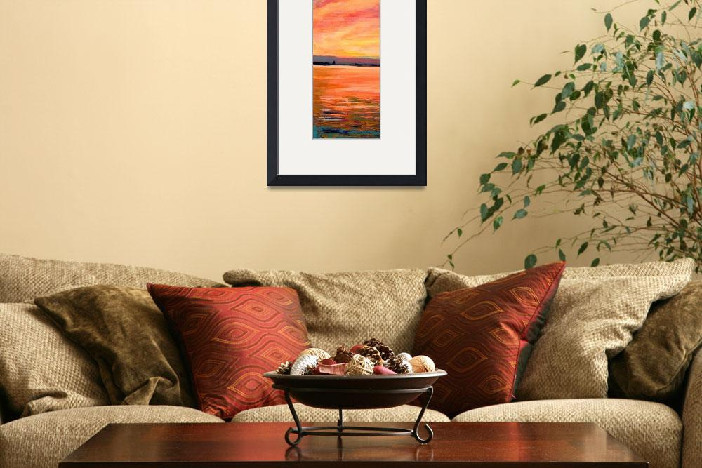 """""""Sunset on the Bay San Diego&quot  (2006) by RDRiccoboni"""