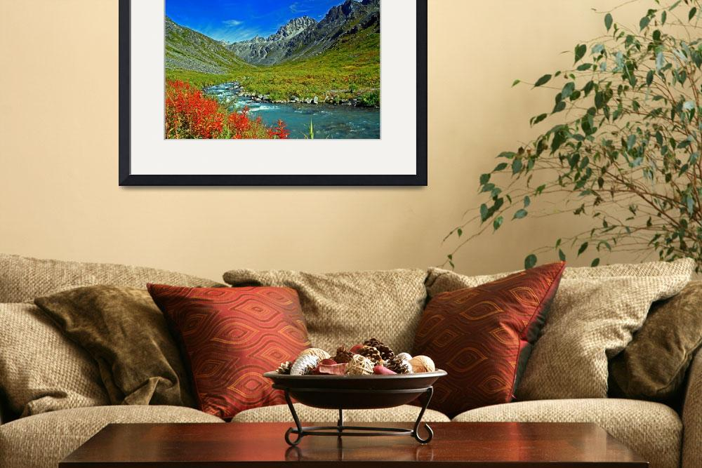 """""""Little Susitna headwaters""""  by HUSKYDeSIGNs"""