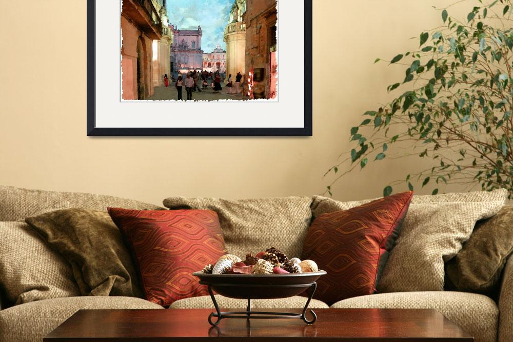 """""""old baroque place""""  by Gianfranco"""