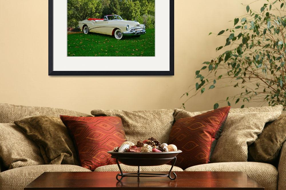"""1953 Buick Skylark Convertible&quot  by FatKatPhotography"