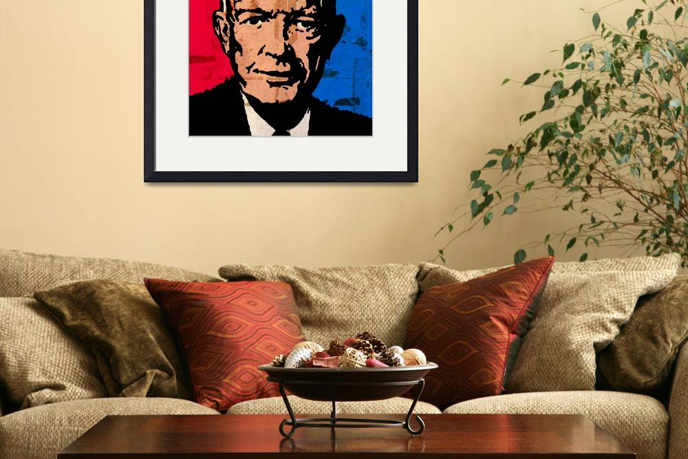 """EISENHOWER&quot  (2014) by thegriffinpassant"