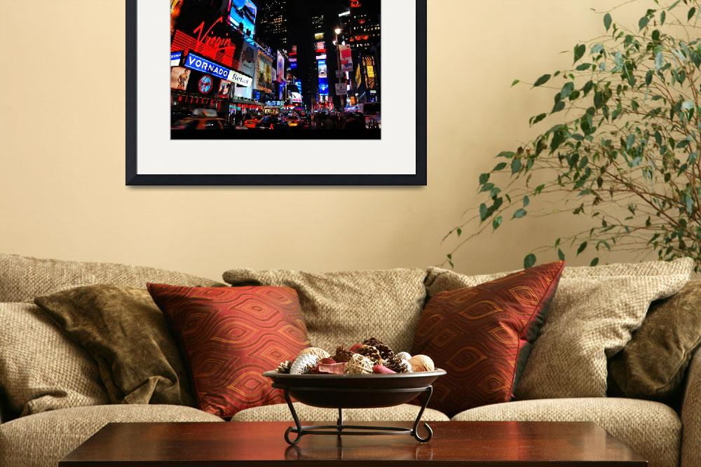 """""""TIMES SQUARE NEW YORK CITY&quot  by NJScott"""