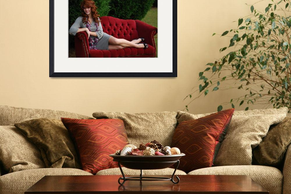 """Elegent on Sofa Ashley&quot  by CaiosPhotography"