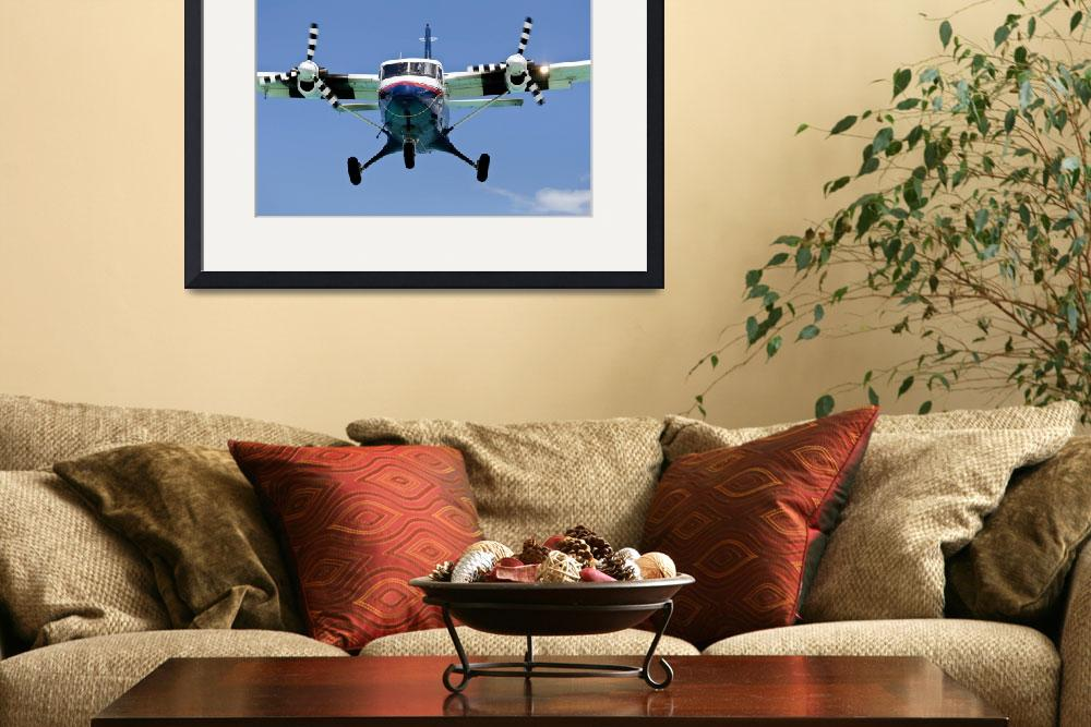 """Turboprop passenger airplane.""  by FernandoBarozza"