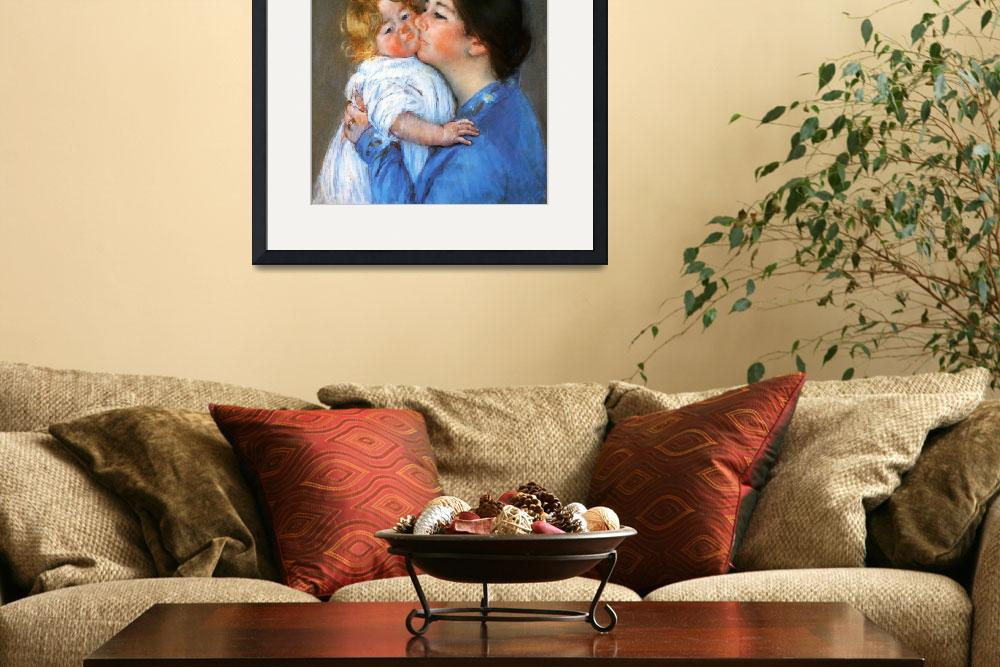 """""""A Kiss For Baby Anne&quot  by ArtLoversOnline"""