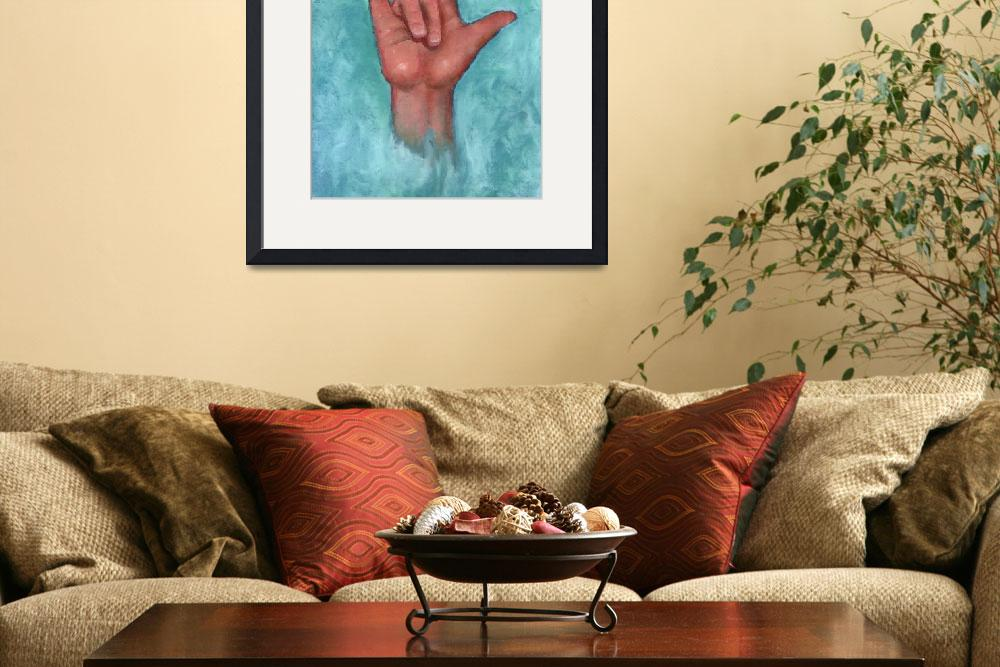 """""""I Love You, in American Sign Language&quot  (2011) by joyart"""