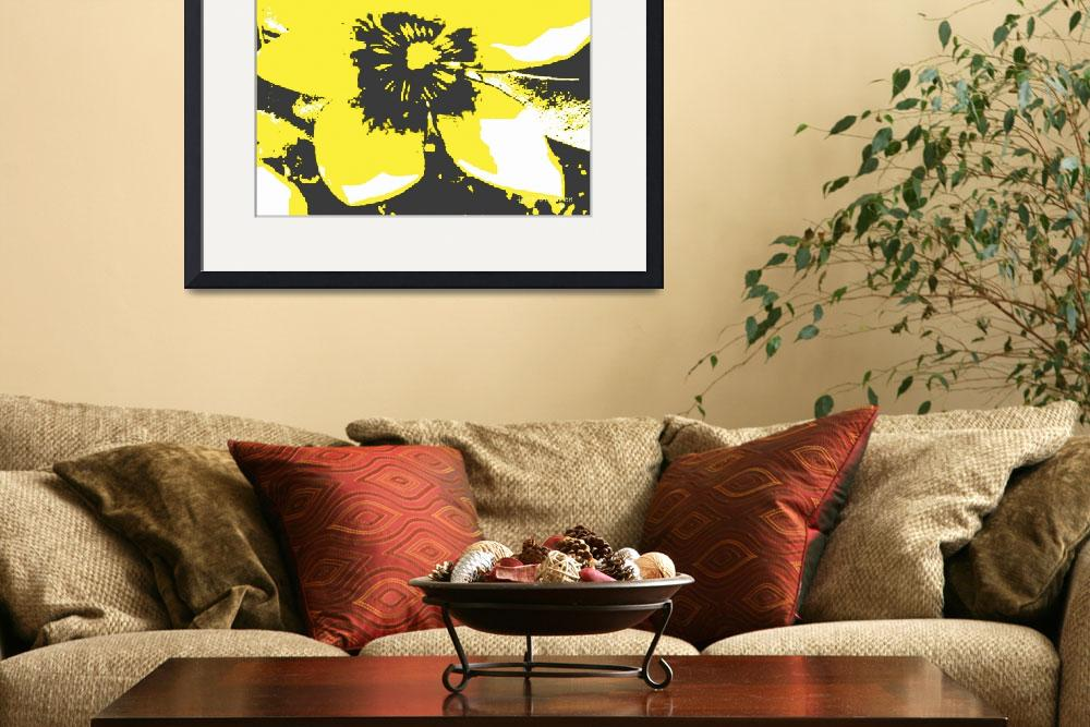 """""""Blooming Yellow&quot  (2013) by HerbDickinson"""