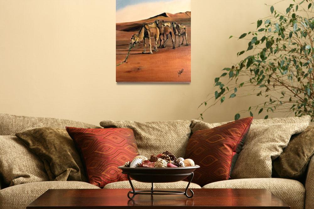 """Just Us Camels""  by arlen"