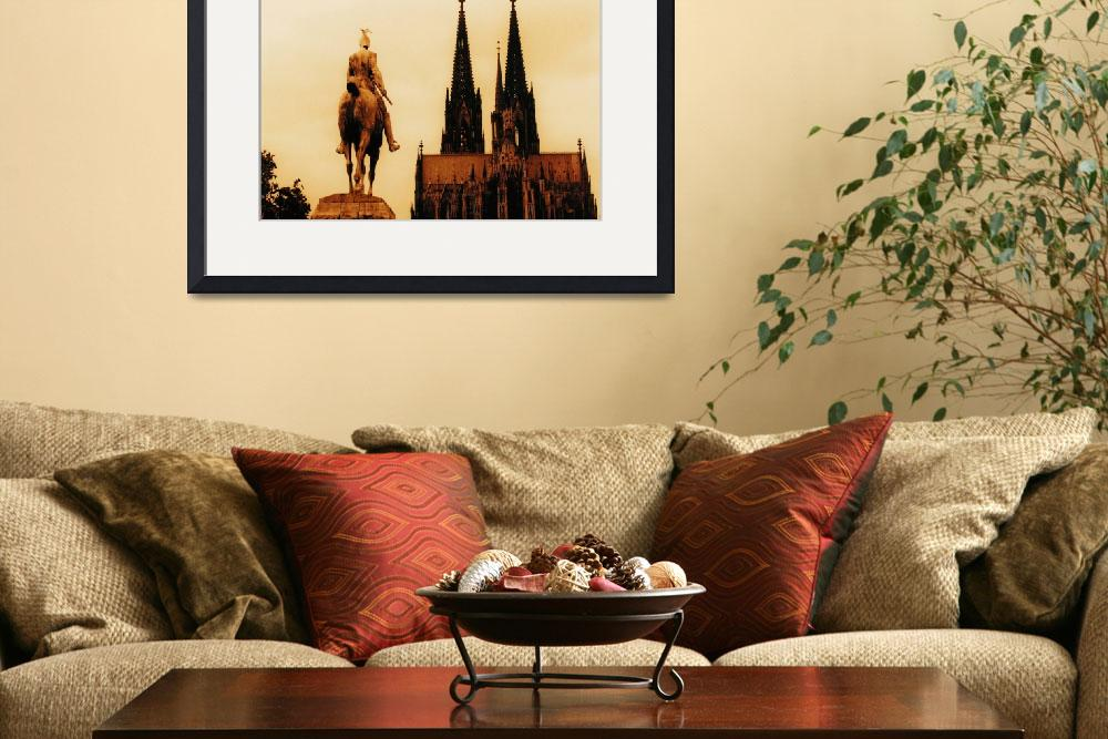 """""""Cologne Cathedral""""  (1991) by fineartphotogifts"""