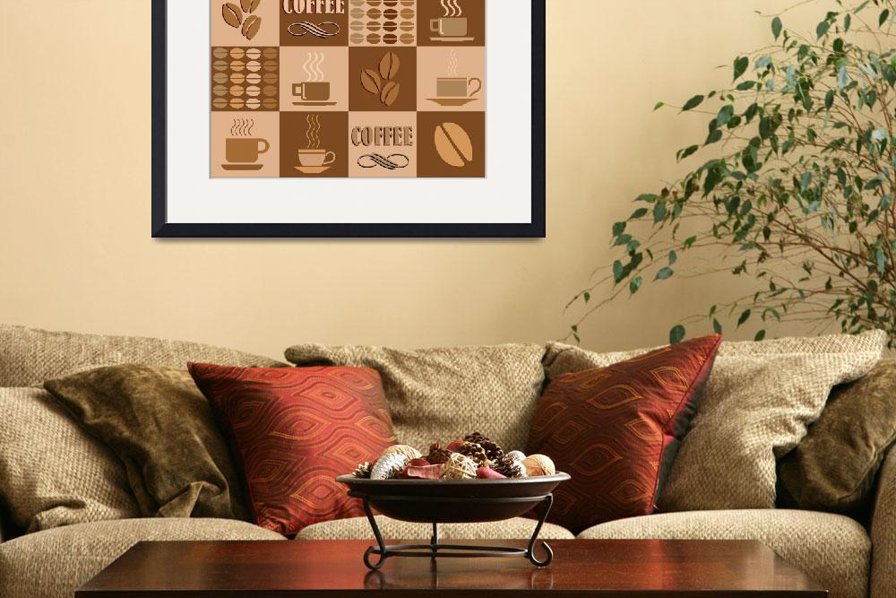 """""""Coffee collage&quot  (2008) by IndianSummer"""
