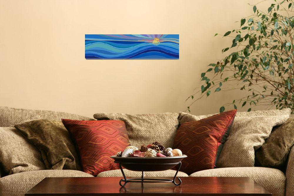 """""""Living Seas Mural&quot  (2013) by scbb11Sketch"""